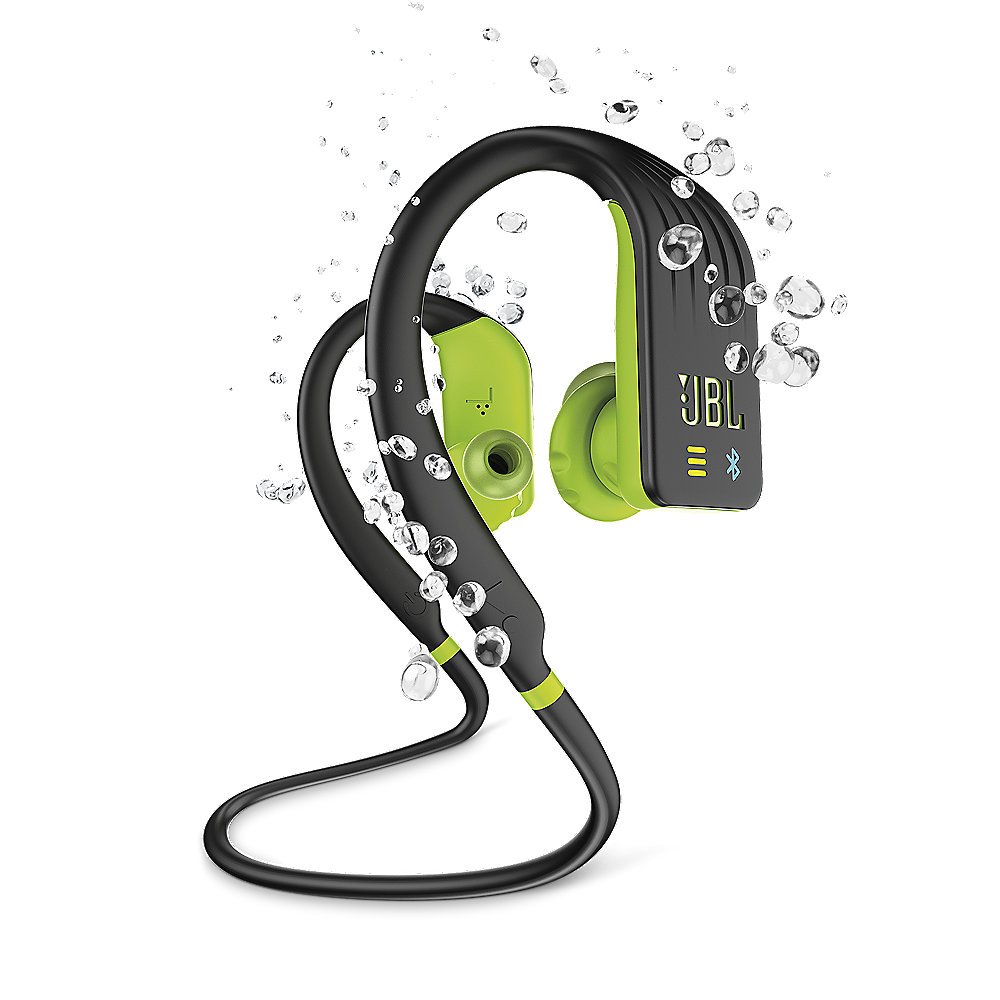 JBL ENDURANCE DIVE Sport-In Ear-Kopfhörer mit MP3-Player Mikrofon schw/gelb