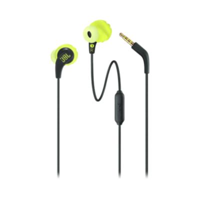 JBL  ENDURANCE RUN Sport-In Ear-Kopfhörer Mikrofon schwarz/gelb   6925281936289