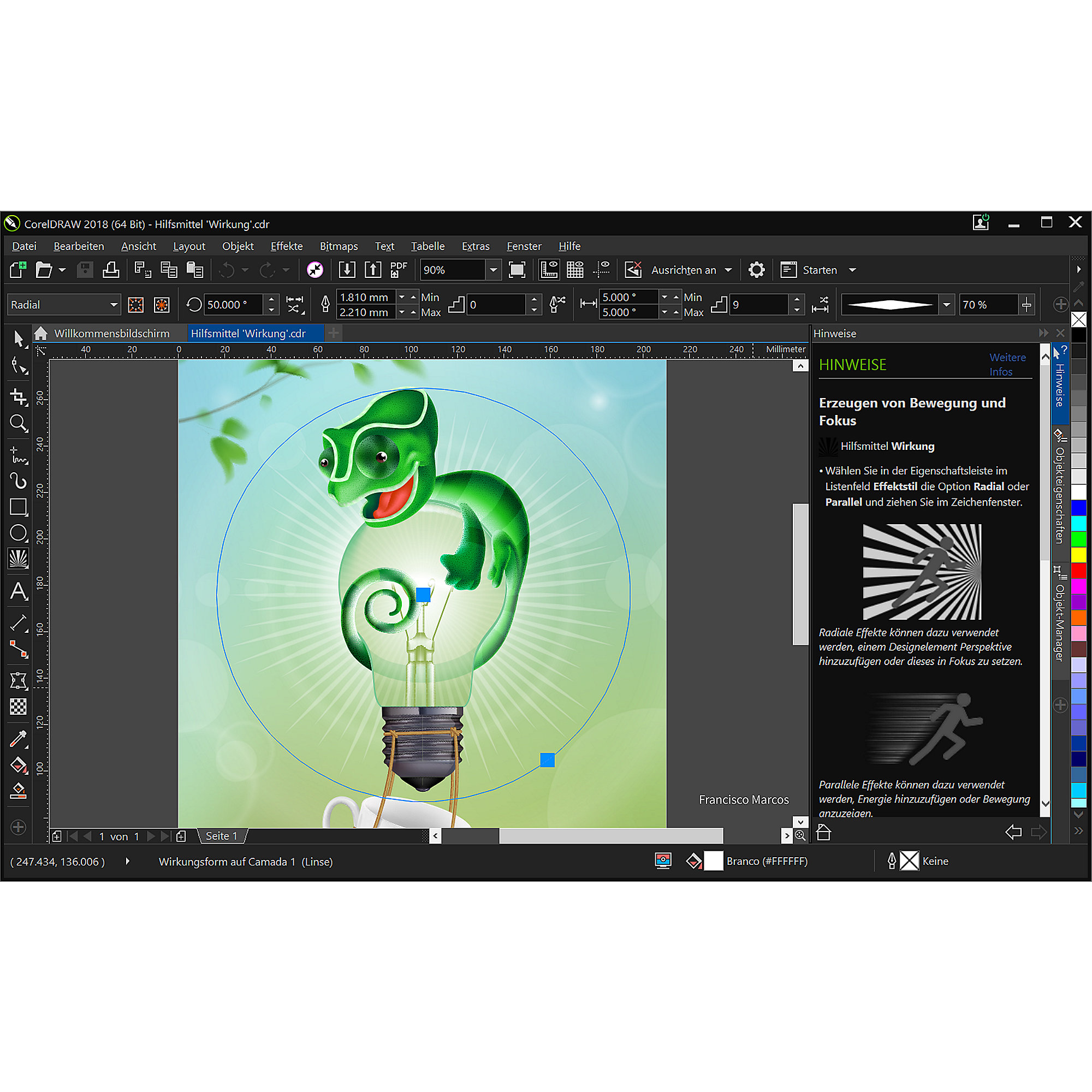 CorelDRAW Graphics Suite 2018 Box