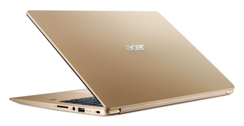 "Acer Swift 1 SF114-32-P1S3 gold N5000 4GB/256GB SSD 14"" FHD W10"