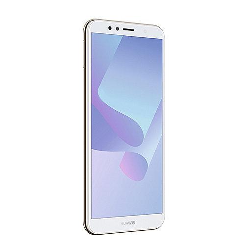 HUAWEI Y6 2018 Dual SIM gold Android 8.0 Smartphone auf Rechnung bestellen