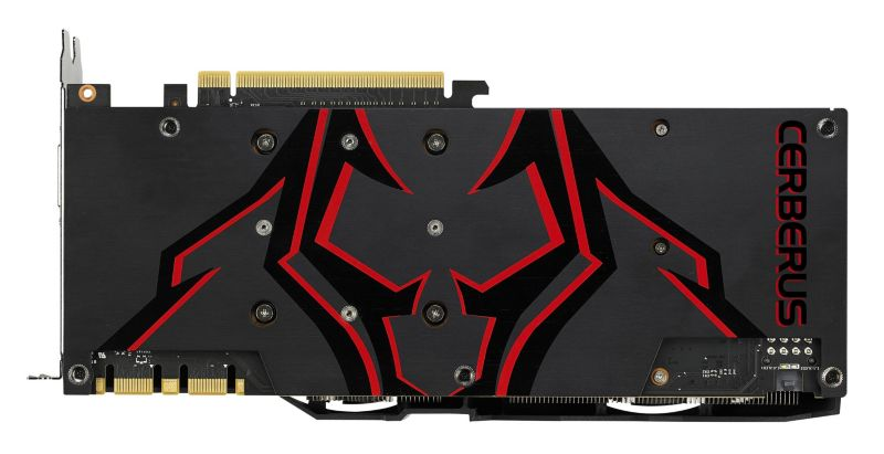 Asus Cerberus GeForce GTX 1070Ti Advanced 8GB GDDR5 Grafikkarte DVI/2xHDMI/2xDP
