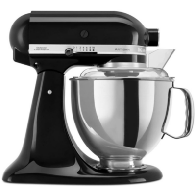 KitchenAid  ARTISAN 5KSM175PSEOB Küchenmaschine 300W 4,8L onyx schwarz | 5413184120634