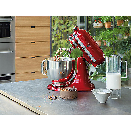 KitchenAid ARTISAN 5KSM175PSEER Küchenmaschine 300W 4,8L empire rot ...