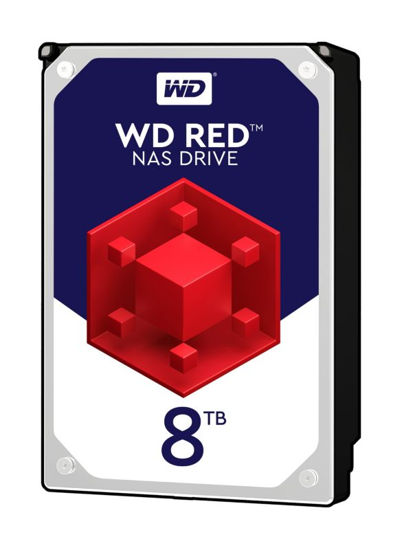 WD Red WD80EFZX - 8TB 5400rpm 128MB 3.5zoll SATA600