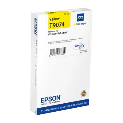 Epson  C13T907440 Druckerpatrone T9074XXL Gelb mit hoher Kapazität 69ml | 8715946548814
