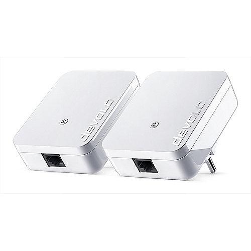devolo dLAN 1000 mini Starter Kit (1000Mbit, 2er Kit, Powerline, range+, 1xLAN) | 4250059681477