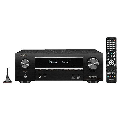 AVR-X1500H 7.2 AV Receiver Schwarz BT WLAN HEOS Amazon Alexa   4951035065099