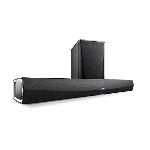 Denon HEOS HomeCinema wireless Soundbar mit Subwoofer - Schwarz