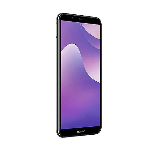 HUAWEI Y7 2018 Dual SIM black Android 8.0 Smartphone auf Rechnung bestellen