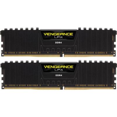 Corsair 32GB (2x16GB)  Vengeance LPX schwarz DDR4-4000 RAM CL19 Speicher Kit | 0843591062213