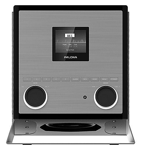 Palona QUUBI DAB+/FM Soundsystem WLAN BT NFC USB Aux-In Fernbedienung schwarz | 7640172480052