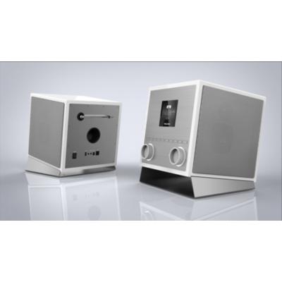 Palotec AG Palona QUUBI DAB+/FM Soundsystem WLAN BT NFC USB Aux-In Fernbedienung silber | 7640172480069