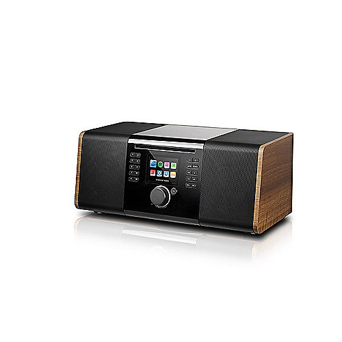 Palona JOJO DAB+/FM 2.1-Soundsystem WLAN BT USB Aux-In Fernbedienung Walnuß | 7640172480076