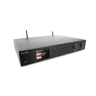 Palotec AG PalonaTuner 190C DAB+/FM HiFi-Tuner WLAN BT USB Fernbedienung schwarz | 7640172480014