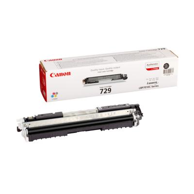 Canon  729 BK Original Toner Schwarz für ca. 1.200 Seiten | 4960999684352