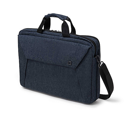 "Dicota Slim Case Plus EDGE Notebooktasche 33,8cm (12""-13,3"") blau denim"