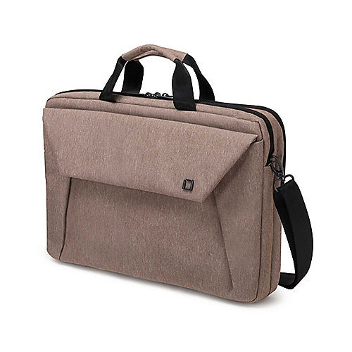 "Dicota Slim Case Plus EDGE Notebooktasche 33,8cm (12""-13,3"") sandstone"