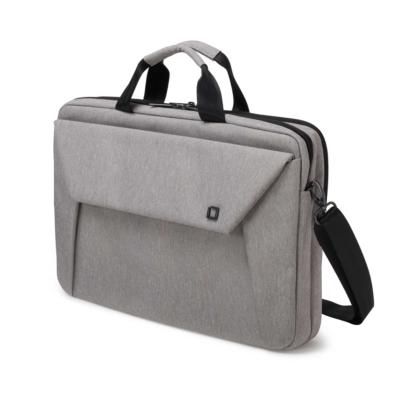 Dicota  Slim Case Plus EDGE Notebooktasche 33,8cm (12″-13,3″) light grey | 7640158666999