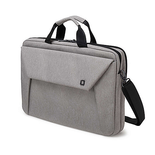 Dicota Slim Case Plus EDGE Notebooktasche 39,6cm (14-15,6´´) light grey