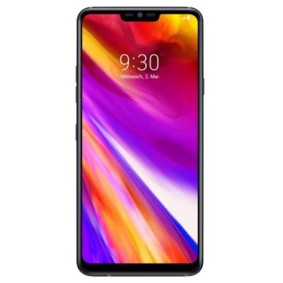 LG  G7 ThinQ 64GB aurora black Android 8 Smartphone   8806087030976