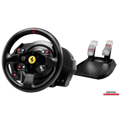 Thrustmaster T300 Ferrari GTE Racing Wheel PC PS3 PS4 auf Rechnung bestellen