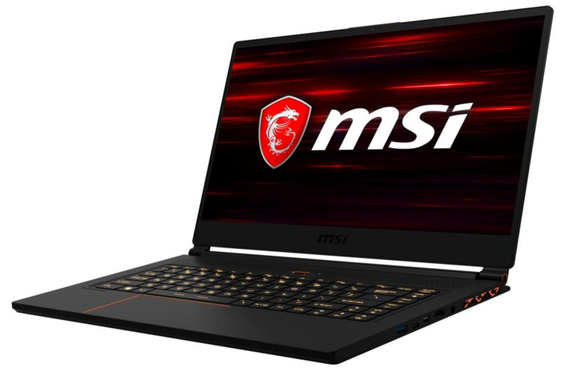 "MSI GS65 8RE-079 Stealth Thin  i7-8750H 16GB/512GB SSD 15"" FHD GTX1060 W10"