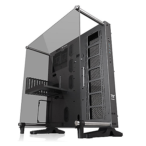 Thermaltake Core P5 TG Ti Midi Tower ATX Design Gehäuse m. Panoramafenster grau