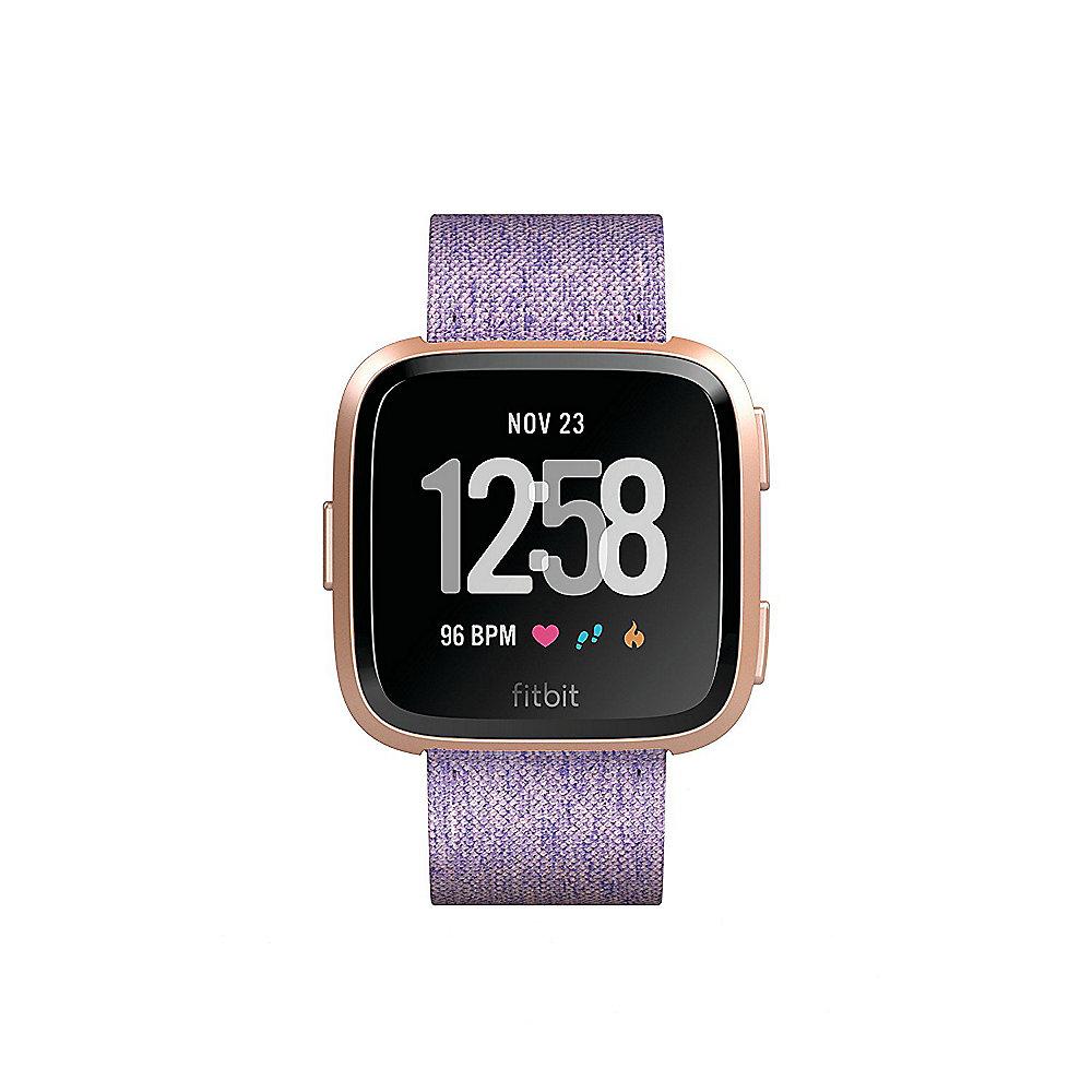 Fitbit Versa Gesundheits- und Fitness-Smartwatch lavendel ++ Cyberport