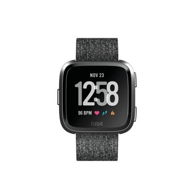 Fitbit  Versa Gesundheits- und Fitness-Smartwatch charcoal – Special Edition | 0816137029971