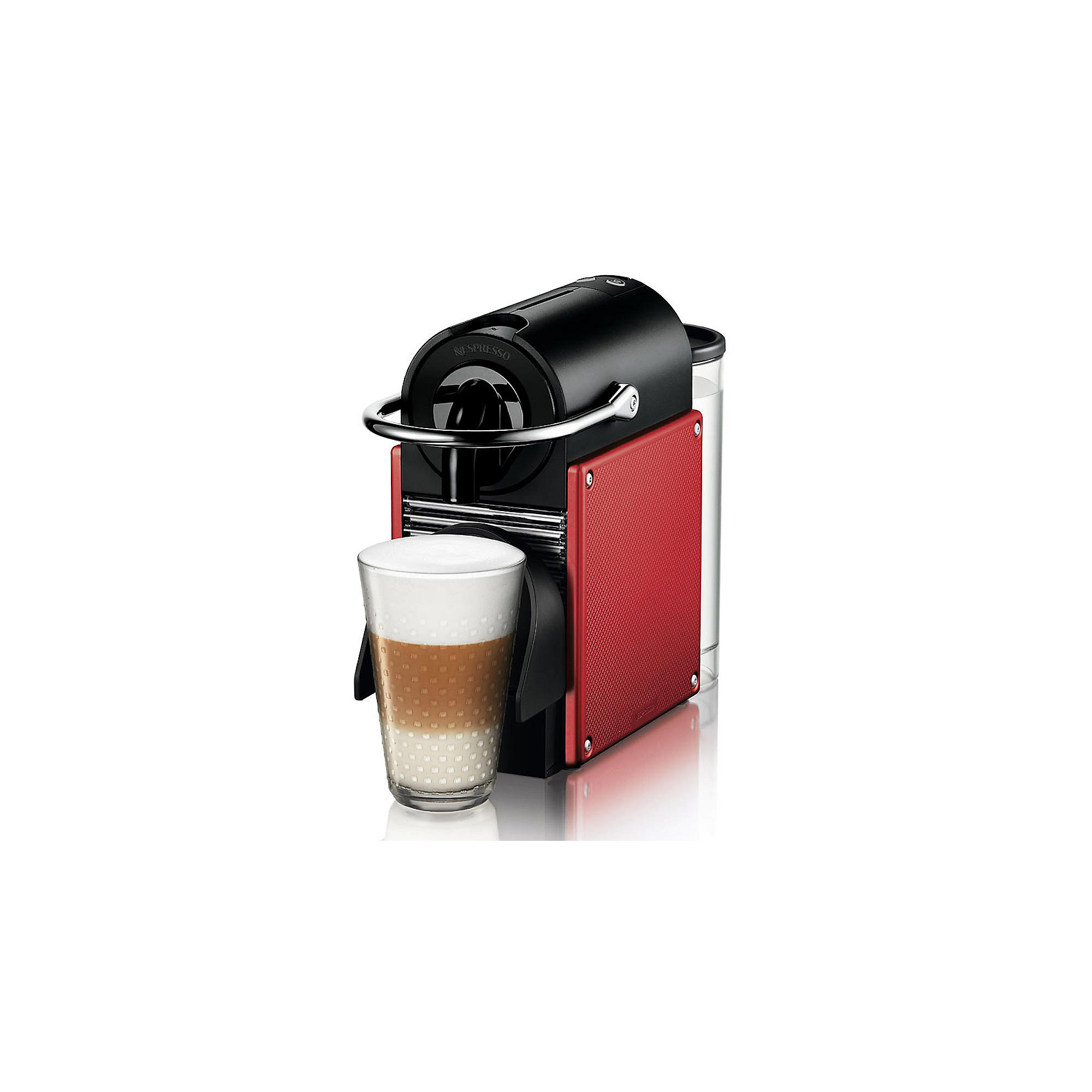 DeLonghi EN 125.R Pixie Nespresso-System Carmine Red