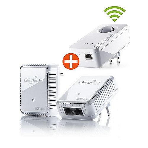devolo dLAN 500 duo Starter Kit + dLAN 550+ WiFi Einzeladapter | 4250059691025