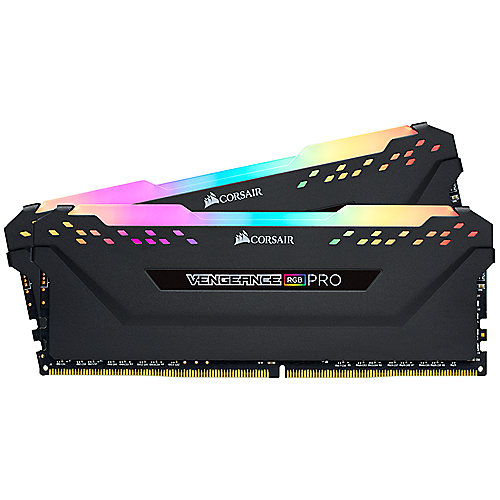 16GB (2x8GB) Corsair Vengeance RGB PRO DDR4-2666 RAM CL16 (16-18-18-35) Kit