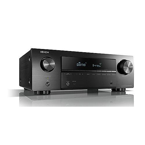 AVR-X550BT 5.2 AV-Receiver, Bluetooth, 5x HDMI, 4K , HDR, Schwarz   4951035065112