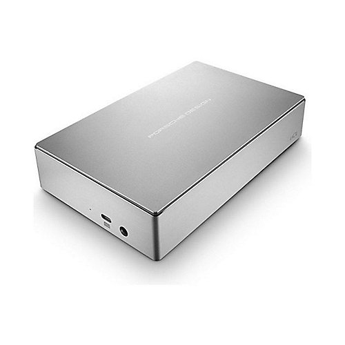 LaCie Porsche Design Desktop Drive P9233 USB-C 3.0 - 8TB 3.5 Zoll Light Grey