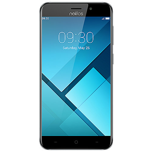 TP-LINK Neffos C7 4G LTE Dual-SIM cloud grey Android 7.0 Smartphone