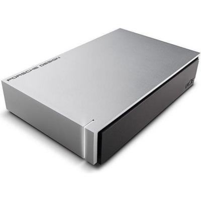Lacie  Porsche Design Desktop Drive P9233 USB 3.0 – 4TB 3.5 Zoll Light Grey | 7636490075773