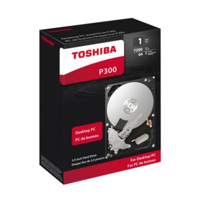 Toshiba  P300 HDWD110EZSTA 1TB 64MB 7.200rpm 3.5zoll SATA600   4051528202670