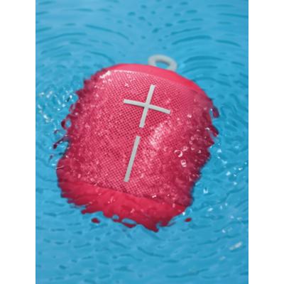 Ultimate Ears  Wonderboom Bluetooth Speaker, raspberry, wasserdicht, mit Akku | 5099206077072