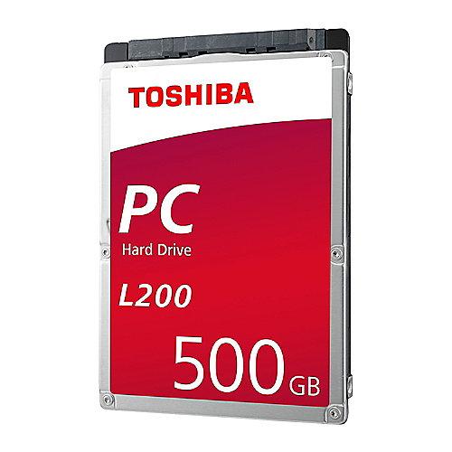 Toshiba L200 HDWJ105UZSVA – 500GB 5400rpm 8MB SATA600 2.5zoll Bulk | 8592978108397