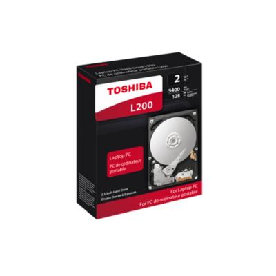 Toshiba  L200 HDWL120EZSTA – 2TB 5400rpm 128MB SATA600 2.5zoll | 4260557510346