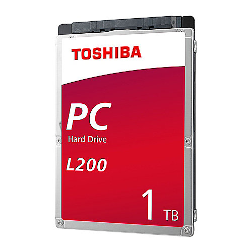 Toshiba L200 Slim HDWL110UZSVA – 1TB 5400rpm 128MB SATA600 2.5zoll Bulk | 4547808810739
