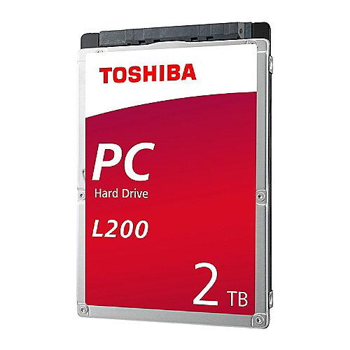 Toshiba L200 HDWL120UZSVA – 2TB 5400rpm 128MB SATA600 2.5zoll Bulk | 4547808810746