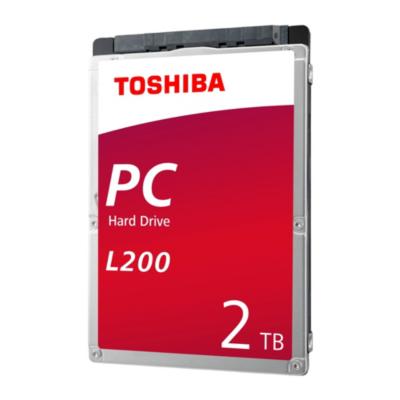 Toshiba  L200 HDWL120UZSVA – 2TB 5400rpm 128MB SATA600 2.5zoll Bulk | 8592978108366