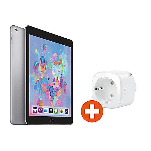 Apple iPad 9,7'' 2018 Wi Fi 128 GB Spacegrau (MR7J2FD A) Eve Energy