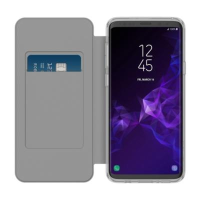 Incipio  NGP Folio Case für Samsung Galaxy S9+, transparent/grau | 0191058061713