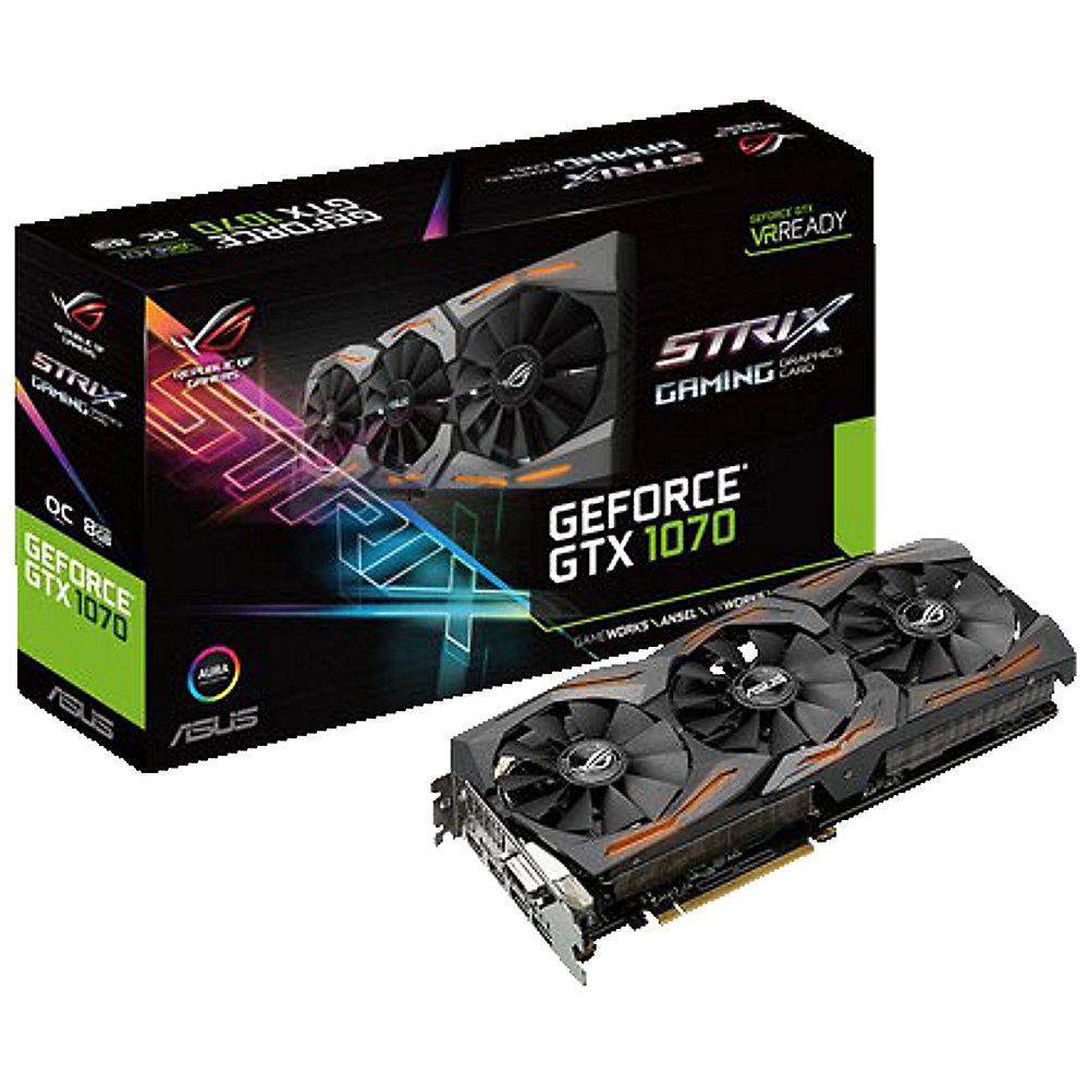 [cyberport.at] Asus GeForce GTX 1070 Strix ROG 8GB za 328€