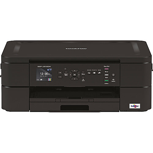 Brother DCP-J572DW Tintenstrahl-Multifunktionsdrucker Scanner Kopierer WLAN