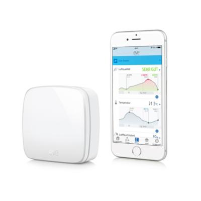 Elgato Eve Room kabelloser Raumklimasensor für Apple HomeKit   4260195391284