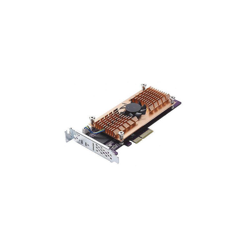 Qnap Dual m.2 22110//2280 SATA SSD Expansion Card for TS-531P//TS-531x//TS-831x//TS-1635//TS-x31XU//TS-X53B//TS-563//TVs-X63//TS-x63U//TS-X70